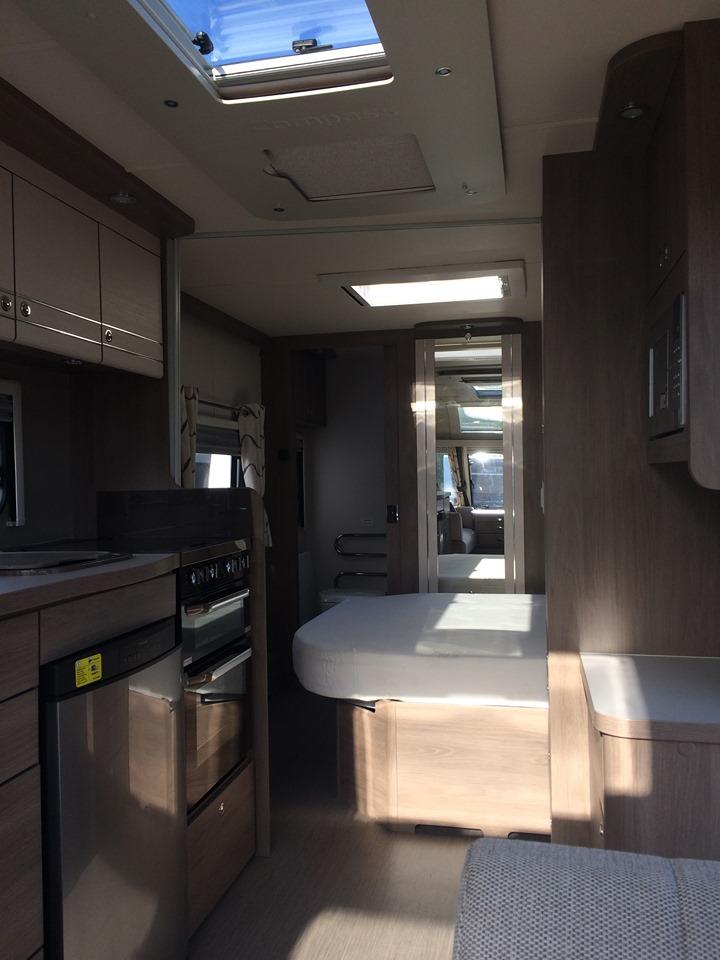2017 Compass Capiro 554 Wallace Caravans Kirkcaldy